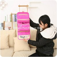 Wholesale Creative Korea waterproof travel cosmetic bag travel toiletry kits admission package female travel wash kit can be equipped