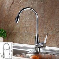 Wholesale New Chrome Hot Cold Mixer Water Tap Basin Kitchen Bathroom Wash Basin Mmixer Faucet