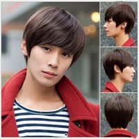 Wholesale Korean Men and Boys With Short Hair Wig wig Handsome Student