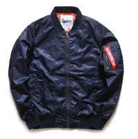 aviator jacket for men - new classic jackets for men bomber jacket streetwear baseball men jackets MA1 aviator jacket cardigan coat