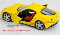 alfa romeo models - Scale Alloy Diecast Car Model For ALFA ROMEO C Spider Collection Pull Back Car Toys With