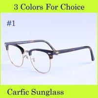 big lens eyewear - 1pcs Retro Glasses Myopia Big Lens Metal Frame PC Carfic Optical Glasses Classic Oculos Eyewear Tortoise Black Eyeglass Novetly