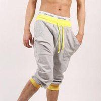 Wholesale New Mens Hip Hop Sweat Pants Basketball Jogger Baggy Trousers S XXL Men Sport Pantalones Pants Man Trousers Sports Pants Capris