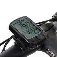 Wholesale 28 Function Waterproof Bicycle Cycling Computer Odometer Speedometer with LCD Large Screen Backlight Stopwatch DCC11H X48P