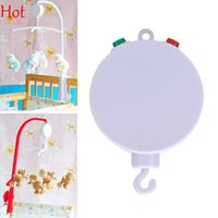 bells christmas songs - Toddler Melodies Rattle Toys Song Baby Mobile Crib Bed Bell Toy Newborn Hanging Electric Autorotation Music Box Case White Sot SV019221