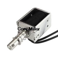 ac electromagnet - AC V mm g Wired Open Frame Pull Solenoid Electromagnet Actuator order lt no track