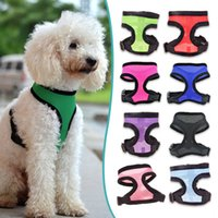 Wholesale Best Selling Nylon Mesh Vest Harness for Dogs Puppy Cats Pets Soft Air Small Dog Harness Arnes Perro Sizes XS XL