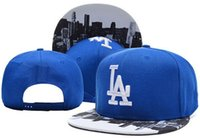 angeles top cap - Top Quality New LA Los Angeles Dodgers Letter Snapback Hats Baseball sports casquette men amp women gorras Bone Baseball Caps