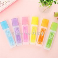 Wholesale Novelty Syringe Highlighter Plastic Fluorescent Liquid Marker Pen for LED Writing Board