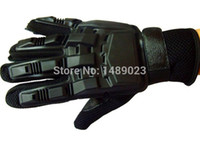 attack tactic - Outdoor camping Attack CS field glove Tactics Half finger tactical gloves Leather Boxing Fighting gloves