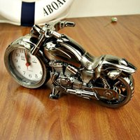 antique motorcycle toys - 2015 New Design TOY Motorcycle Alarm Clock Fashion Motorcycle Alarm Clock Personality Patent Home Furnishing Gifts