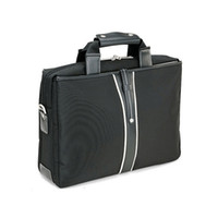 Wholesale New Portable Handbag Shoulder Laptop Notebook Bag quot Shoulder Leisure bag business messenger briefcase large Purse