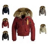 Wholesale duck down jacket women s thicken wind proof duck down overcoat Gobi in colors