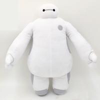 Precio de Gran cosa-12inch al por menor de 30 cm 12 '' Super Marines Big Hero 6 Baymax de color blanco y Robot Los animales de peluche niños de las muñecas regalos de Navidad
