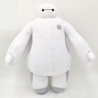 Wholesale Retail inch cm Super Marines Big Hero Baymax plush toys White Robot stuffed Animals dolls children christmas gifts