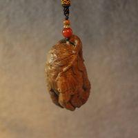 Ebony / Rosewood / sandalwood australian bag - Australian sandalwood wood rhyme bergamot car bag pendant gift boutique Decoration