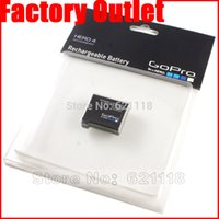 Wholesale NEW AHDBT AHDBT Battery for GoPro go pro GoPro4 HD Hero Hero4 Black Silve Edition batteries bateria celular