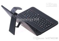 Wholesale 100pcs HOT Inch USB keyboard leather case VIA A10 A13 Q88 N77 VC882 epad tablet pc MID shipping DHL PTA F