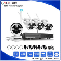 Wholesale HD P Wifi NVR Kit CCTV Camera Kits Plug and Play Installation Super Easy No Need any Cable Support Mobile Monitor