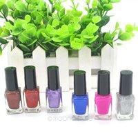 art painting pics - 6ml Women s Nail Polish Nail Varnish Lacquer Paint Nail Art Bright in colour Pics Set Makeup Set J CHJ0168 M6