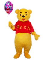 Wholesale Hot Selling Best price Mascot Costume Winnie Pooh Cartoon Clothing Adult Size