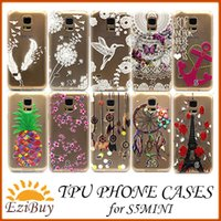 options - soft TPU cell phone cases for SAMSUNG GALAXY S5 MINI protective tpu cover for S5 MINI models options