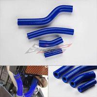 accord hose - SHIPPING FREE SILICONE RADIATOR HOSE KIT fit for YAMAHA YZF450 WR450F BLUE M53641 radiator hose honda accord