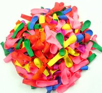 used toys - 3000pcs bags balloon toy gun fire a gun target water polo ball balloon colorful balloon can use in bar party ect