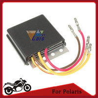 Wholesale Black Voltage Regulator Rectifiers for Polaris Motorcycle ATV Magnum SPORTSMAN Big Boss Scrambler Rectifier order lt no trac