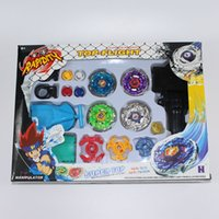 beyblade cartoons - Hot sales Top Flight D Beyblades Arena Toys Horoscope Alloy Cartoon Anime Kids Birthday Gifts Metal Super Top Beyblade