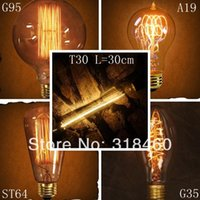 incandescent bulb - 2015 Incandescent Bulbs Incandescent Bulbs Direct Selling New Arrival Order Antique Edison for Club Coffee Bar Lamp v v
