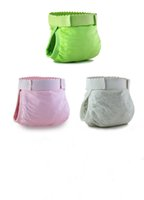 Wholesale Baby Diapers Children Cloth Diaper Reusable Nappies Adjustable Diaper Cover Washable