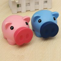 bank cash cute - Portable Cute Plastic Piggy Bank Saving Cash Coin Money Box Children Toy Kids Gifts Home Collection Colors New