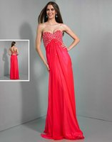Reference Images A-Line Sweetheart 2015 A Line Crystals Sequins Beading WOW Prom Evening Dresses 6023 Sweetheart Chiffon Ruched Floor Length Winter New Formal Celebrity Gowns