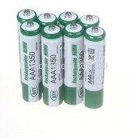 Wholesale 8pcs A mAh V AAA Size Ni MH Rechargeable Battery Cell RC BTY