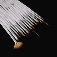 Wholesale Hot sale set Nail Art Brush Set Painting Dotting Design White Pen H4557