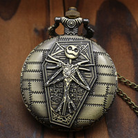 Wholesale 2016 New Arrival The Burton s Nightmare Before Christmas Pocket Watch P769