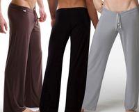 bell bottoms men - 2016 High Quality Men sexy lingerie Loungewear See pouch Bulge Lounge Pants Sexy Male Pajamas Sleep Bottoms sleepwear Men s Underwear