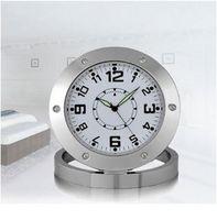 Wholesale Spy Nanny Clock Cam VGA Hidden Bathroom Camera Motion Detection Mini DVR Voice Recorder Video Camcorder Micro Camara Espia