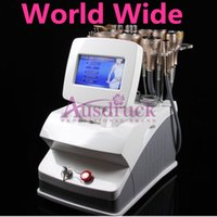 Wholesale Big Promotion Cavitation Ultrasonic Liposuction Multipolar RF Vacuum Photon LED Cold Weight Loss Skin Care beauty Multifunction equipment