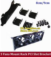 amd mounting bracket - 10PCS NEW Fan Mount Rack PCI Slot Bracket for Video Card DIY with order lt no track