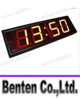 Wholesale LLFA77 Character High HH MM MM SS Alternatively Countdown Count Up Timer Sport Event Race Running Clock Indoor Red LED Countdown Clock