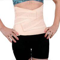 Cheap Wholesale-Body shapers! A cellulite slimming body shaper belt waist training corsets cincher cinta emagrecedora feminina modelador cintura