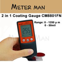 Wholesale Cheap Fe NFe in One Build in Probe Coating Thickness Gauge CM8801FN