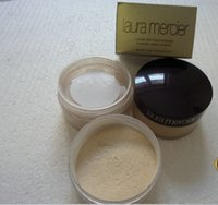 Wholesale 3 clolors Loose Powder Famous laura mercier loose setting powder Min pore Brighten Concealer Nutritious Firm sun block long lasting g