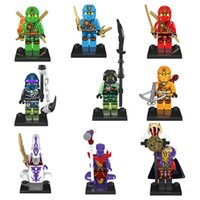 Wholesale 2016 new Brand elephant NINJA minifigures building blocks high quality classical kids toys single sale provide