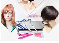 barber hair design - 2015 update design in1 professional Stainless steel hairdressing tools Barber Scissors set Hair Cutting Thinning Shear salon tool