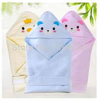 Wholesale bamboo fiber baby wrapped blanket thin section newborns pack blankets spring and autumn receiving blankets