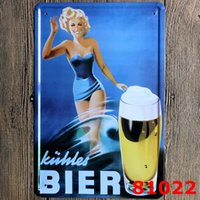 bier beer - Bier Poster Metal Plaque Decor If you like beer you will love schlity Vintage Room Decoration Tin Sign CM