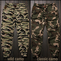 overalls for men - Fashion Camo Jogger Pants Camouflage Casual Trousers Overalls Jeans Pants Jogging Sports Pants for Man